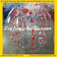 Buy cheap Bumper 20 Body Zorbs Football 1.5m TPU from wholesalers