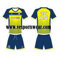 Buy cheap 100%polyester top quality soccer apparel from wholesalers