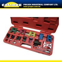 Buy cheap CALIBRE Petrol Engine Twin Cam Locking/Setting Tool & Flywheel-Holding Tool Kit from wholesalers