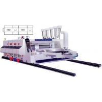 Buy cheap High speed automatic printing and slotting machine product