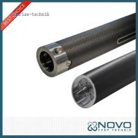 3K Plain Woven And Glossy Finish Carbon Fiber Roller With Competitice Price And Good Quatity