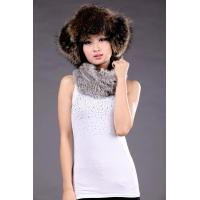 Sheep Leather+Raccoon Fur Hat