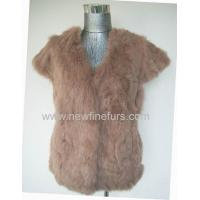 Buy cheap Acrylic/wool crochet with rabbit vest from wholesalers