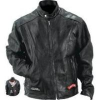 Buy cheap Diamond Plate Rock Design Genuine Buffalo Leather Motorcycle Jacket from wholesalers