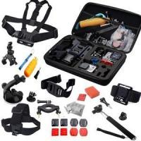 Buy cheap 30 All-in-1 Professional Gopro Accessories Bundle for Gopro Hero 2 4 3 SJ4000 sport camera from wholesalers