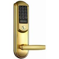 Buy cheap Gloden Digital Keypad Door Lock For Clubs , Electronic Keypad Door Lock from wholesalers