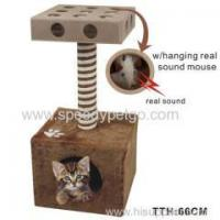 Buy cheap Cat scratcher tree with IQ box from wholesalers