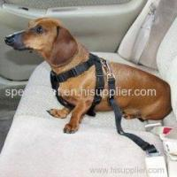 Buy cheap Hot Selling Adjustable Practical Dog Pet Car Safety Leash Seat Belt Harness Restraint Collar Leads from wholesalers