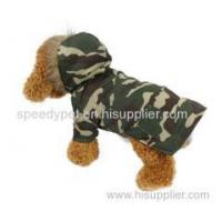 Buy cheap Camouflage color dog two feets winter dog coat from wholesalers