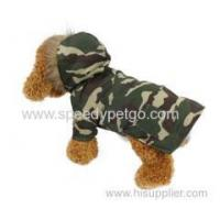 Buy cheap Camouflage color dog two feets dog winter coat from wholesalers