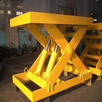 Buy cheap Stationary electric hydraulic lift table from wholesalers
