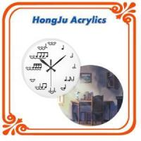 Buy cheap modern high grade acrylic clock from Wholesalers