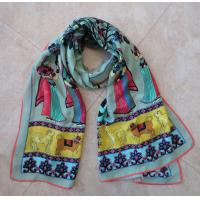 Buy cheap lady spring silk scarf egyptian style unique design wholesale china factory from wholesalers