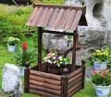 Buy cheap WOODEN WISHING WELL ALS-5119 from wholesalers
