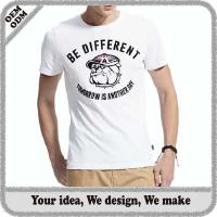 Buy cheap custom t shirts manufacturers china from wholesalers