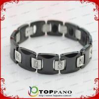 Buy cheap health function titanium negative ion bracelet supplier from wholesalers