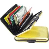 Buy cheap metal bank card wallet from wholesalers