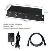 Buy cheap 3840 X 2160P 4K Digital Signage Player HDMI SPDIF Switch Box For Hotels from wholesalers