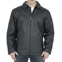 Buy cheap MEN LEATHER JACKET COAT from wholesalers