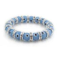 Buy cheap Zirconia Evil Eye Bracelet, Big Lavender Evil Eye Beads from wholesalers