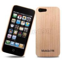 Buy cheap Real Maple Wood Wooden Hard Case Cover for iPhone 5 from wholesalers