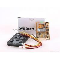Buy cheap 1CH DVR Board Audio Video Record for car home FPV use from wholesalers