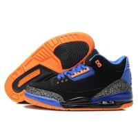 Buy cheap Air Jordan 3 Suede Shoes Mens Black Blue from wholesalers