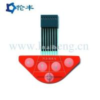 Buy cheap tactile membrane switch keypad supplier from wholesalers