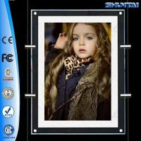 Buy cheap A2 sizes backlit crystal LED poster frames window double side from wholesalers