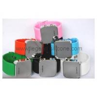 Buy cheap Square LED silicone watch from wholesalers