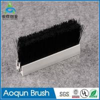 Buy cheap Hot sale elastic escalator safety brush,escalator deflector safety brush,deflector skirt brush from wholesalers