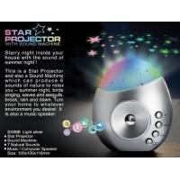 Buy cheap Star Projector With Sound Machine from wholesalers