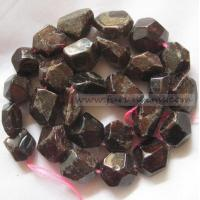 Buy cheap Semi-precoius Stone / loose stone Garnet faceted nugget / tumble stone 12-16mm ItemFR11011 from wholesalers