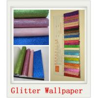Buy cheap Wall Decor Champagne Glitter Wallpaper Roll product