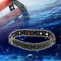 Buy cheap Anti-Fatigue 4in1 Titanium Anion Magnetic Energy Germanium Power Health Bracelet With Nice Gift Box from wholesalers