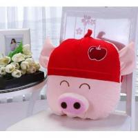 Buy cheap Cartoon pillow is fruit pig cushion is pillow air conditioning dual-use cushion car cushion quilt from wholesalers