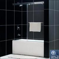 Buy cheap EF212 Frameless SlidingTub Door from wholesalers