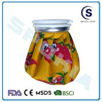 Buy cheap printing cotton cloth ice bag with PVC coating from wholesalers