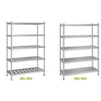 Buy cheap Stainless steel 4 tiers plate rack kitchen storage rack restaurant plate rack product