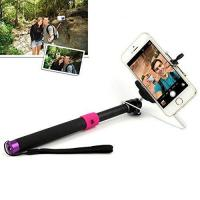 Buy cheap JHM-811 SELFIE Extendable Monopod with 3.5mm Jack Cable and Remote Button for iOS Android system product