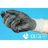 Buy cheap 10-3G243 10-3G247 DSM new generation HMPE yarn 3g10 knitting glove with Polyurethane coated on palm from wholesalers