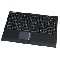 Buy cheap KeySonic Compact USB keyboard with touch pad - black soft skin from wholesalers