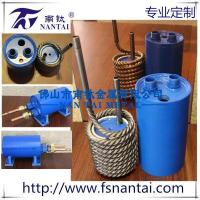 Buy cheap Customized high quality titanium twisted tube heat exchanger from wholesalers