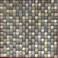 Buy cheap Brushed stainless steel mosaic tile from wholesalers