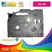 Buy cheap TZe-131(Length:10M) black on clear tape for Brother P-touch label tape Printer from wholesalers