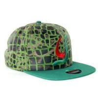 Buy cheap Acrylic and printed snakeskin leather strapback from wholesalers