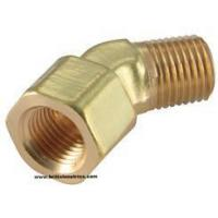 Buy cheap Brass Adaptors & Fittings 45 Deg Street Elbow BSP from wholesalers