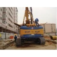 Buy cheap sold used Bauer rig piling rig at the working site from wholesalers