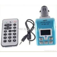 Buy cheap Bluetooth car kit MP3 Player FM transmitter with remote control with from wholesalers