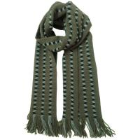 Buy cheap knit men scarf zig zag pattern from wholesalers